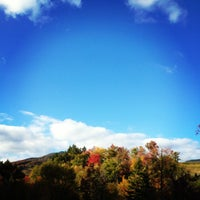 Photo taken at Smugglers' Notch Resort by Paige on 9/27/2012