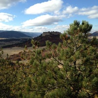 Photo taken at Spruce Mountain Open Space by Tanya on 10/18/2013
