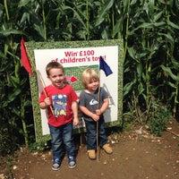 Photo taken at Manydown Farm Maze by William R. on 8/9/2014