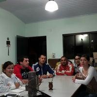 Photo taken at Club de Remo Villa Encarnacion - Centro by Pitu G. on 10/6/2014