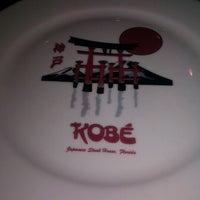 Photo taken at Kobe Japanese Steakhouse & Sushi Bar by Zaakirah M. on 1/5/2013