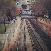 Photo taken at Buda Castle Hill Funicular by Bogdan P. on 12/27/2012