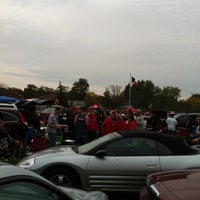 Photo taken at Ball State Tailgate Town by Garrett C. on 10/13/2012
