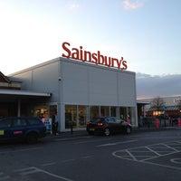Photo taken at Sainsbury's by Николай К. on 3/30/2013