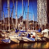 Photo taken at Port Olímpic by Raig de Llum on 11/1/2012