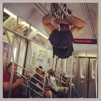 Photo taken at MTA Subway - Q Train by Iryna I. on 7/21/2013