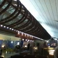 Photo taken at Emirates Business Class Lounge by Kamoun D. on 1/20/2013