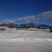 Photo taken at Bridger Creek Golf Course by Doralyn R. on 12/31/2012