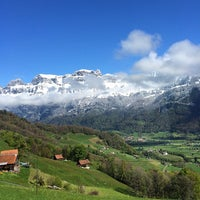 Photo taken at Flumserberg Bergheim by Thomas B. on 4/19/2014