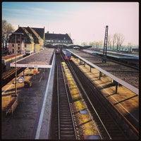 Photo taken at Lindau Central Station by Thomas B. on 1/12/2013