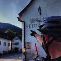 Photo taken at St. Luzisteig (Pass) by Thomas B. on 8/22/2013
