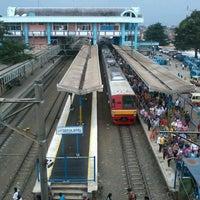 Photo taken at Stasiun Depok Baru by Fahrul Silvian D. on 3/19/2013