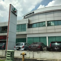 Photo taken at Perodua Sales & Service Centre Glenmarie by NURUL NADIA M. on 3/25/2017