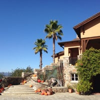 Photo taken at Silverado Vineyards by Tanya K. on 10/26/2013