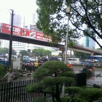 Photo taken at Jalan Jenderal Gatot Subroto by Nano on 11/4/2012