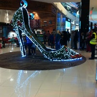 Photo taken at Morocco Mall by Hanady on 1/31/2013
