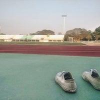 Photo taken at Sing Buri Stadium by Meow' M. on 2/27/2016