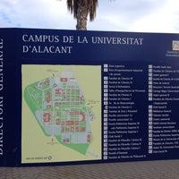 Photo taken at UA - Universidad de Alicante / Universitat d'Alacant by Ekaterina B. on 12/7/2012