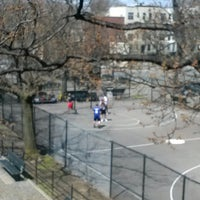 Photo taken at Hoyt Playground by Brian on 4/14/2013
