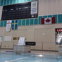 Photo taken at Canada Games Aquatic Centre by Furkan👑 on 2/14/2014