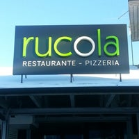 Photo taken at Rucola Ristorante & Pizzeria by Martin V. on 1/22/2013