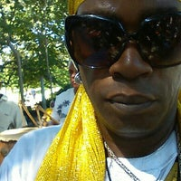 Photo taken at Congo Square by Voodoo Chief Divine Prince T. on 7/18/2015