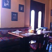 Photo taken at Khan Farouk Tarab Cafe by Hadeel on 9/27/2012