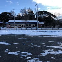 Photo taken at 英彦山 別所駐車場 by Yas N. on 1/26/2018
