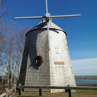 Photo taken at Judah Baker Windmill by Turtles T. on 2/22/2014