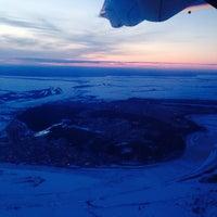 Photo taken at Khanty-Mansiysk International Airport (HMA) by Vladimir S. on 4/16/2014
