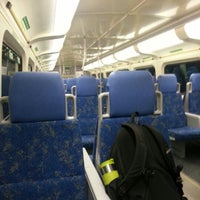 Photo taken at GO Train - Lakeshore West by Ry-An/Ann (. on 12/18/2012