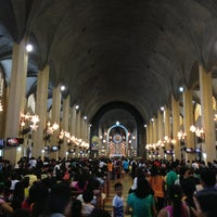 Photo taken at National Shrine of Our Mother of Perpetual Help (Redemptorist Church) by Mark Lester A. on 1/2/2013