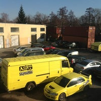 Photo taken at Auto Stils, autoserviss by Arturs I. on 4/15/2013