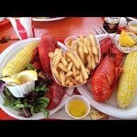 Photo taken at Portland Lobster Company by Gabriel O. on 9/29/2012