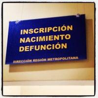 Photo taken at Servicio de Registro Civil e Identificación by  PolloSCL on 10/3/2012
