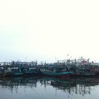 Photo taken at Pelabuhan Muara Angke by Ario Pandu L. on 7/19/2013