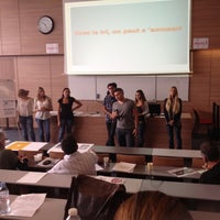 Photo taken at Lycee Saint Exupery by Greg T. on 10/5/2012