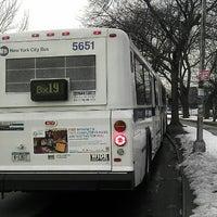 Photo taken at MTA MaBSTOA Bus at New York Botanical Garden / Bronx Park Terminal: (Bx19) by 0zzzy on 2/13/2013