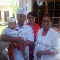 Photo taken at Pura Desa Pengrebongan Kesiman by IKetut Adi S. on 11/10/2013