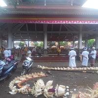 Photo taken at Pura Desa Pengrebongan Kesiman by IKetut Adi S. on 11/12/2013