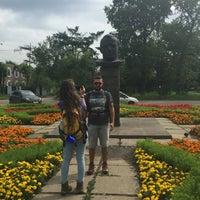 Photo taken at Памятник Ю.А. Гагарину by Aleksandra S. on 8/14/2016
