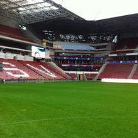 Photo taken at Philips Stadium by Danielle K. on 5/16/2013