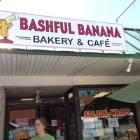 Photo taken at Bashful Banana Cafe by Gary M. on 7/6/2013