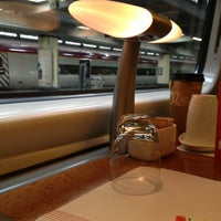 Photo taken at Virgin Trains First Class Lounge by Aslihan M. on 3/20/2013
