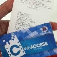 Photo taken at SM Cinema 3 by Yean M. on 10/15/2012