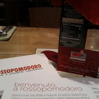Photo taken at Rosso Pomodoro by Michael F. F. on 12/9/2012