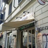 Photo taken at Cafe Divan Porta Genova by Michael F. F. on 11/9/2012