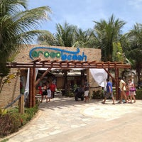 Photo taken at Crocobeach by Andrea B. on 1/25/2013