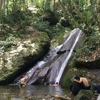 Photo taken at Poring Kipungit Waterfall by Eyka Atiqah E. on 6/2/2015
