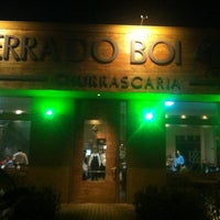 Photo taken at Churrascaria Terra do Boi by Fernanda K. on 1/5/2013